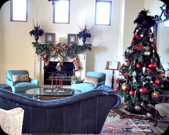 Brick Room Christmas {Inspiration Affirmation}