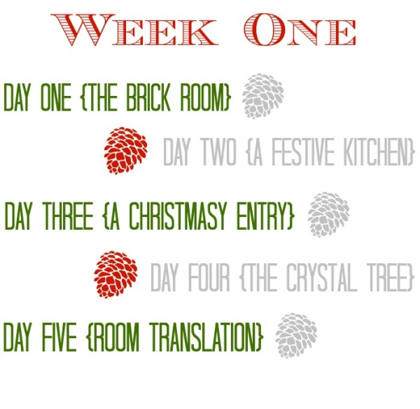 Moms' Christmas Home Tours Week One {Inspiration Affirmation}