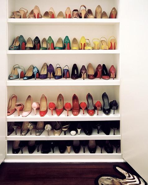 shoe shelf plans