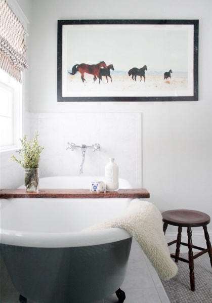 Roman Shade Love: Bathroom Edition  {Inspiration Affirmation}