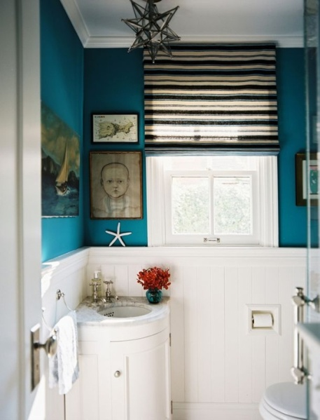 Roman Shade Love: Bathroom Edition  {Inspiration Affirmation}