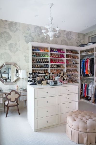 Closet Design Crush: Shoe Shelving  {Inspiration Affirmation}