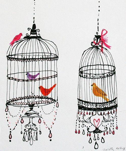 Oriental Birds {Charlotte Hardy}