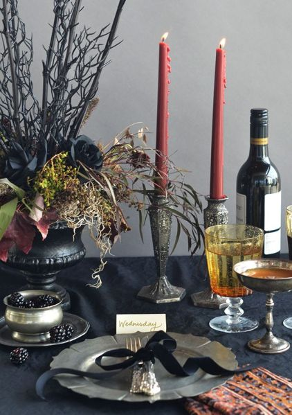 Halloween Tablescaping
