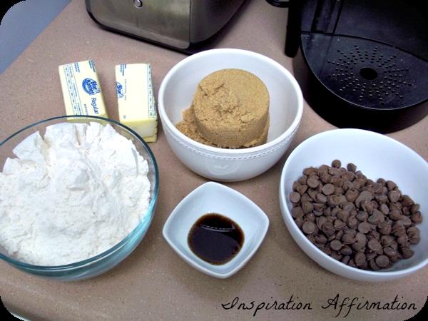 Chocolate Chip Cookie Dough Bites  {Inspiration Affirmation}